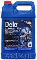 Chevron Delo Extended Life Coolant/Anti-freeze Concentrate антифриз красный концентрат