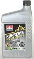 Petro-Canada Supreme Synthetic 0W-20 Масло моторное 1л
