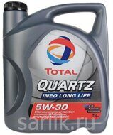 TOTAL QUARTZ INEO LONG LIFE 5W-30 масло моторное 5л